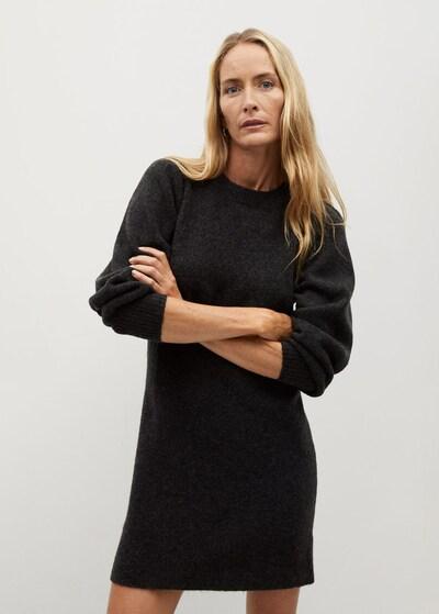 MANGO Kleid 'Koyo' in dunkelgrau, Modelansicht