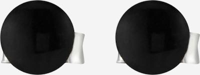 ELLI Oorbellen 'Geo, Kreis' in de kleur Zwart, Productweergave