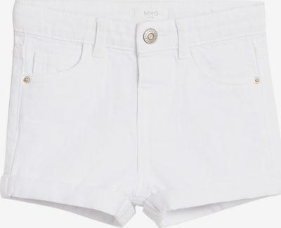 MANGO KIDS Jeans 'ANNA' in de kleur White denim, Productweergave