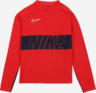 NIKE Trainingssweat 'Dry Academy Drill' in navy / rot / weiß, Produktansicht