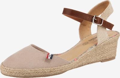 ambellis Sandale in beige / braun, Produktansicht