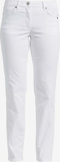 LauRie Jeans Charlotte in klassischer Five-Pocket-Optik in weiß, Produktansicht