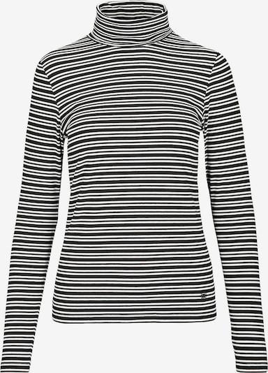 BASEFIELD Shirt 'Heike' in schwarz / weiß, Produktansicht