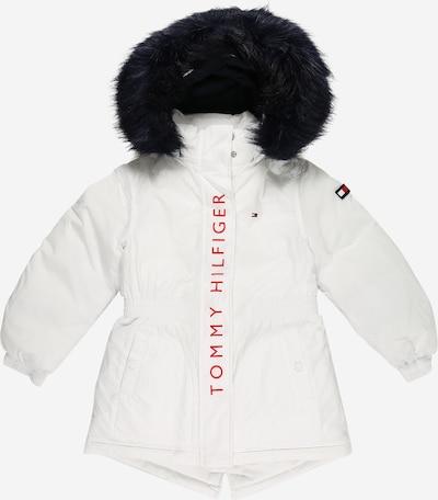 Žieminė striukė iš TOMMY HILFIGER, spalva – tamsiai mėlyna / raudona / juoda / balta, Prekių apžvalga
