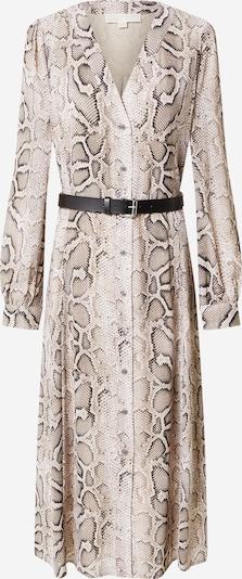 MICHAEL Michael Kors Robe-chemise 'KATE' en beige / beige clair / anthracite, Vue avec produit