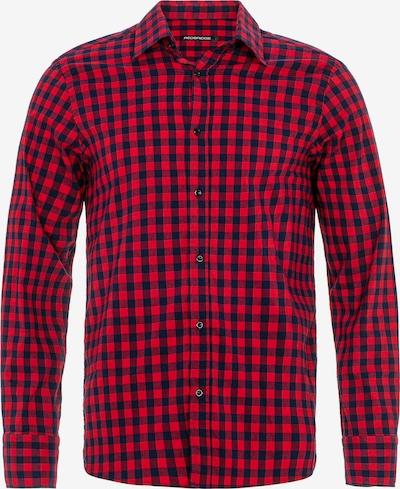 Redbridge Hemd 'Denton' in navy / rot, Produktansicht