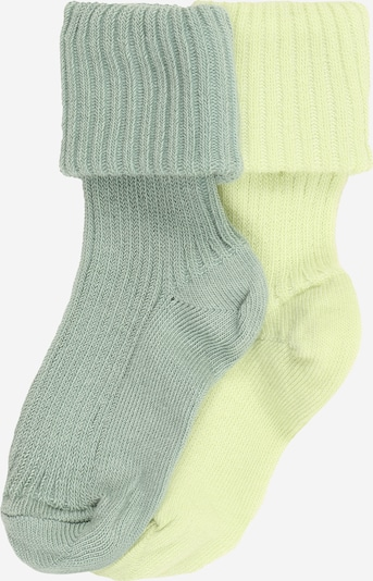 mp Denmark Socks in yellow / pastel green, Item view