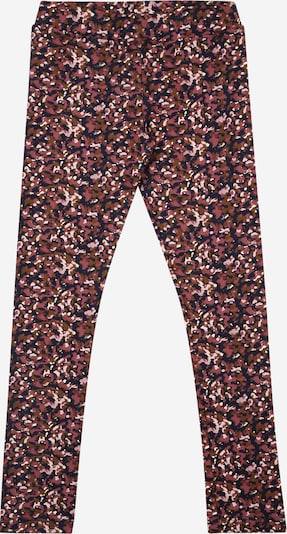 Leggings 'VICKS' The New pe bleumarin / maro caramel / roz / roz închis, Vizualizare produs