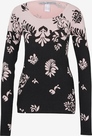 heine Pull-over en rose / noir: Vue de face