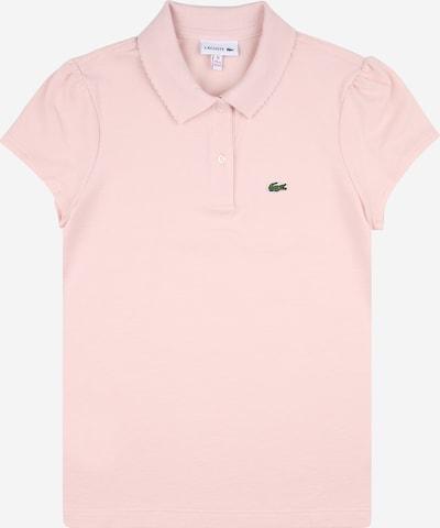 LACOSTE T-Shirt en vert / rose ancienne / rouge / blanc, Vue avec produit