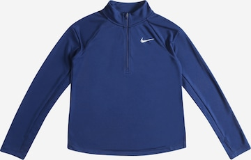 NIKE Funktsionaalne särk, värv sinine