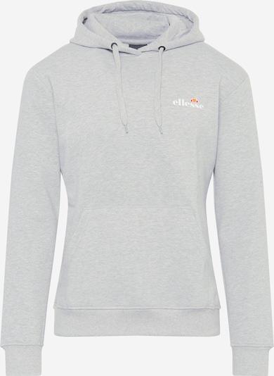 ELLESSE Sportsweatshirt 'Elce' in hellgrau / orange / orangerot / weiß, Produktansicht