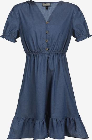 DreiMaster Vintage Robe d'été en bleu nuit, Vue avec produit