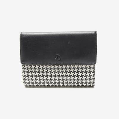 Lauren Ralph Lauren Portemonnaie in One Size in schwarz / weiß, Produktansicht
