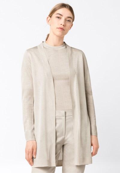 HALLHUBER Long-Cardigan in Feinstrick in weiß, Modelansicht