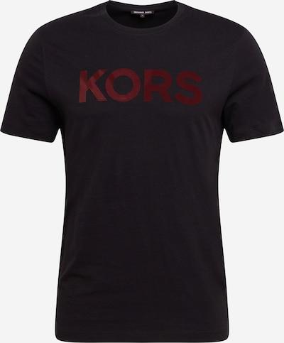 Michael Kors T-Shirt en rouge / noir, Vue avec produit