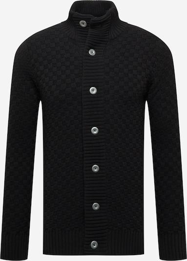 Kronstadt Adīta jaka 'Benjamin', krāsa - melns, Preces skats
