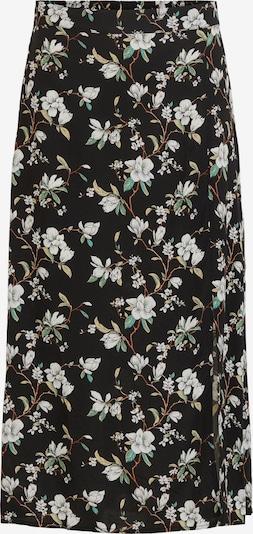 VILA Spódnica 'Lana' w kolorze beżowy / zielony / czarnym, Podgląd produktu
