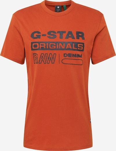 G-Star RAW T-Shirt in orange, Produktansicht