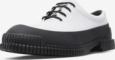 CAMPER Schnürschuhe in schwarz / weiß, Produktansicht
