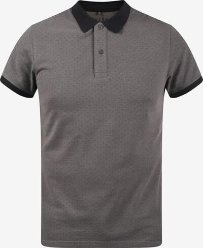 BLEND Poloshirt 'Alaron' in grau / schwarz, Produktansicht