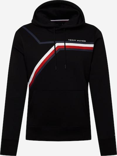 TOMMY HILFIGER Sweatshirt in de kleur Marine / Rood / Zwart / Wit, Productweergave