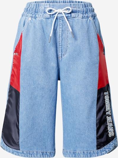 Tommy Jeans Kavbojke | mornarska / svetlo modra / rdeča / vinsko rdeča barva, Prikaz izdelka