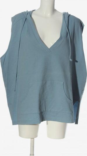 Ulla Popken Kapuzensweatshirt in 7XL in blau, Produktansicht