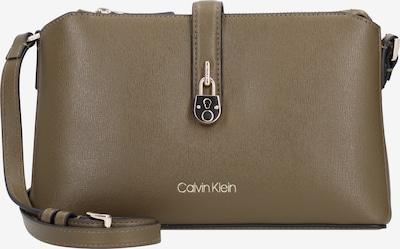 Calvin Klein Sac à bandoulière en vert, Vue avec produit