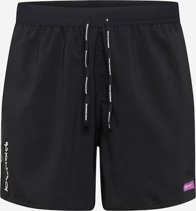 Pantaloni sport 'Flex Stride' NIKE pe negru / alb, Vizualizare produs