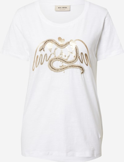 MOS MOSH Shirt in goldgelb / weiß, Produktansicht