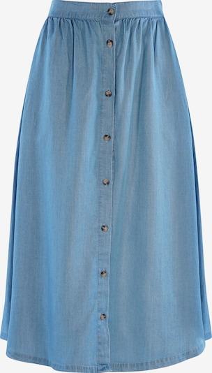 mazine Rok ' Cora ' in de kleur Blauw denim, Productweergave