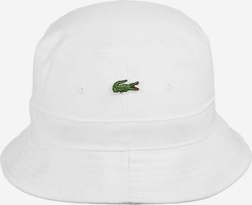 LACOSTE Hut in Weiß