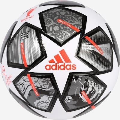 ADIDAS PERFORMANCE Ball  'Finale' in silbergrau / rot / schwarz / weiß, Produktansicht