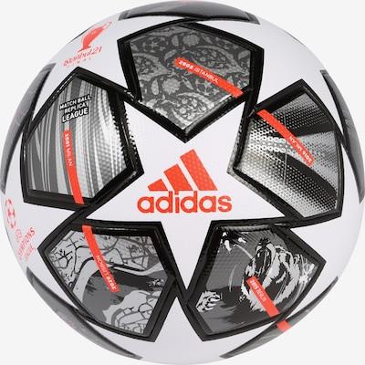 ADIDAS PERFORMANCE Balle 'FINALE' en gris / rouge / noir / blanc, Vue avec produit
