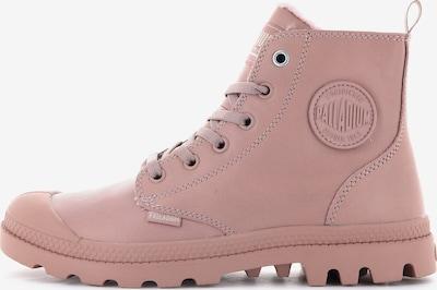 Palladium Stiefelette in rosa, Produktansicht