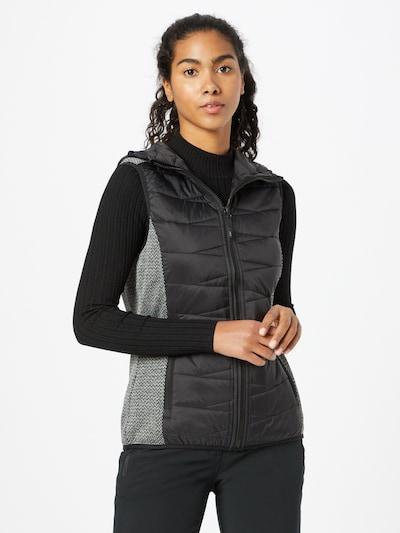 CMP Sportweste in graumeliert / schwarz, Modelansicht