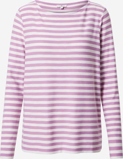 TOM TAILOR T-shirt en violet / blanc, Vue avec produit