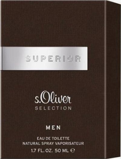 s.Oliver Eau de Toilette 'Superior' in braun, Produktansicht