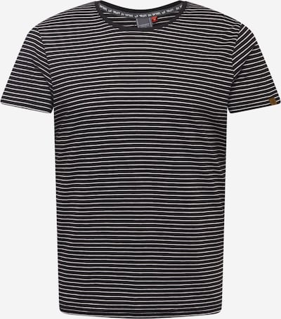 Ragwear Shirt 'STRACY' in schwarz / weiß, Produktansicht