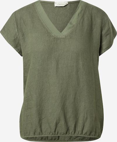 Cartoon Bluse in khaki, Produktansicht