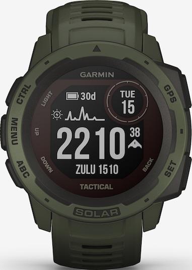 GARMIN Uhr 'Instinct Solar' in dunkelgrün, Produktansicht