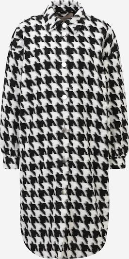 ONLY Carmakoma Mantel 'Andrea' in schwarz / weiß, Produktansicht