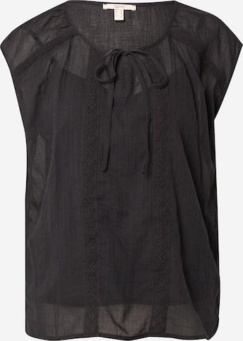 ESPRIT Bluse i svart