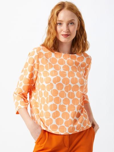 OPUS Bluse in orange / weiß, Modelansicht