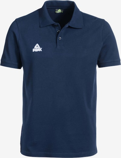 PEAK Polo-Shirt in dunkelblau, Produktansicht