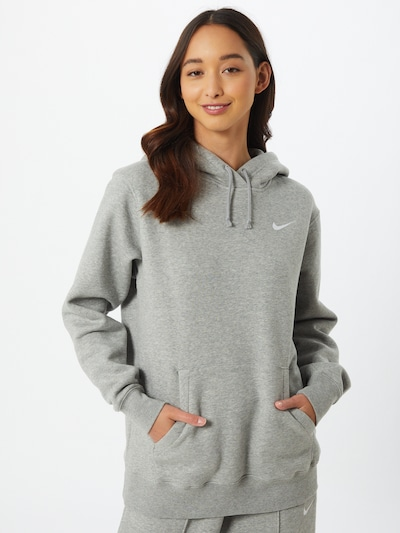 Nike Sportswear Sweatshirt in graumeliert: Frontalansicht