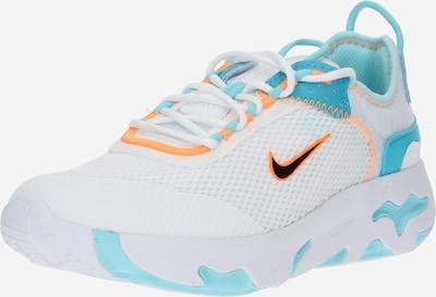 Nike Sportswear Sportschuh in hellblau / orange / weiß, Produktansicht