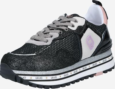 Liu Jo Sneakers laag 'MAXI WONDER' in de kleur Lichtgrijs / Lila / Rosa / Zwart, Productweergave