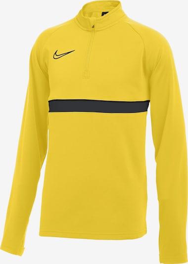 NIKE Trainingsshirt in gelb / grau / schwarz, Produktansicht